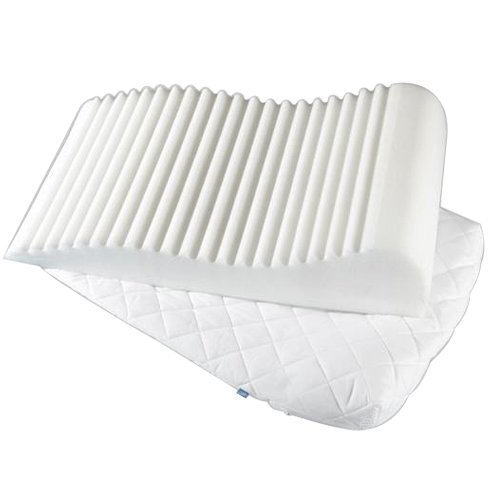 COVER ONLY White Onion for Matching Bedrooms Contoured Orthopaedic Leg Raiser Foam Pillow Foot Rest Cushion Bed Wedge Support Matching Bedroom Sets