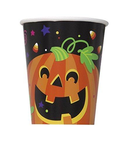 (9oz Happy Halloween Paper Cups by Unique)
