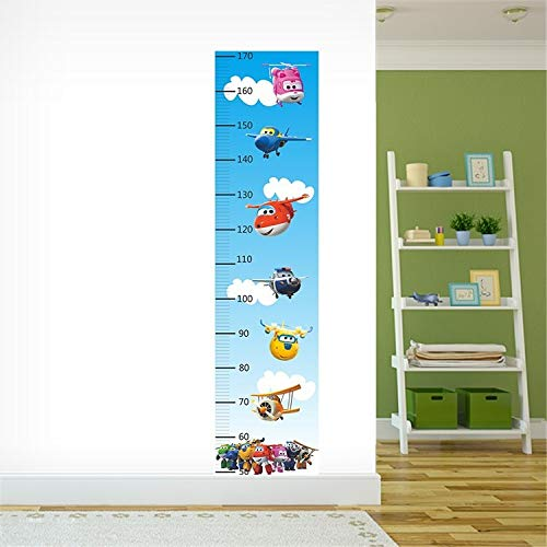 Cartoon Super Wings 3D Wall Sticker Home Decoration Anime Posters Wall Decal Art Game Wall Paper Nursery (2)