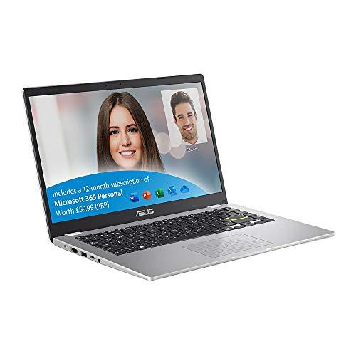 ASUS VivoBook with Microsoft Office 365 E410MA 14 Inch Full HD Laptop (Intel Celeron N4020, 4 GB RAM, 64 GB eMMC…