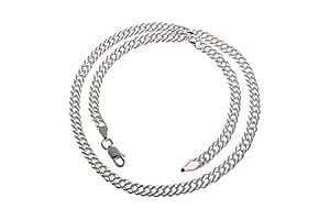 Silberketten-Store - Cadena de plata de ley 5,5mm de ancho. Longitud: 50 centímetros