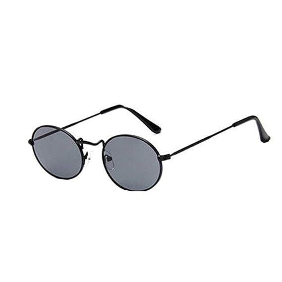 Worsworthy Gafas de Sol Ovaladas Retro de época Elipse ...