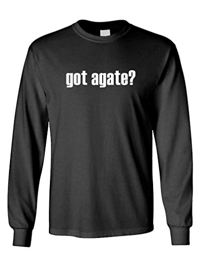 GOT Agate? - Rock Mineral geode Hound Hunt - Long Sleeved Tee, 3XL, Black