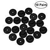 Vosarea Seat Belt Stop Buttons Anti-Slip Buckle Retainers Buttons