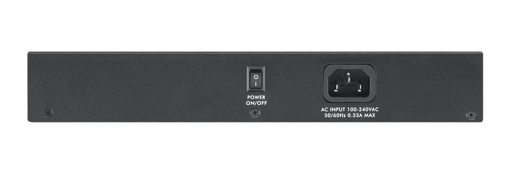 Zyxel 24-Port 10/100/1000 Gigabit Switch - Sturdy Metal - Desktop with Rackmounts [GS1100-24E]