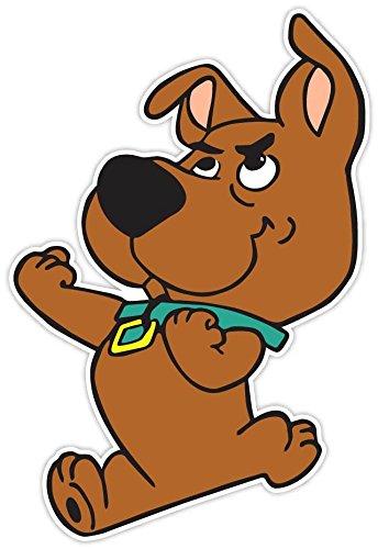 "Scrappy-Doo Scooby-Doo Vinyl Sticker 4""x6"" Decal Puppy Dog Cartoon Scrappy Scooby Doo"