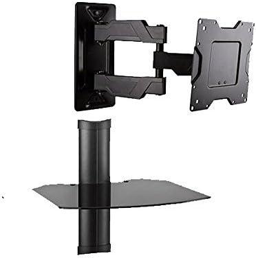 Movimiento completo HD/LED TV Pantalla Plana con componente flotante estante de pared para televisión de