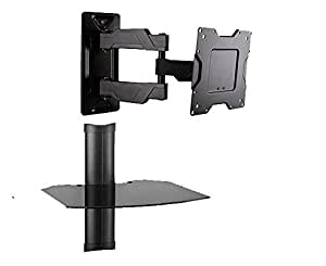 full motion hd led tv wall mount with. Black Bedroom Furniture Sets. Home Design Ideas