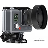 GoPro HERO4 2.2x High Definition Super Telephoto Lens - FOR VIDEO ONLY (Includes 2 Adapters For Using With And Without Housing)