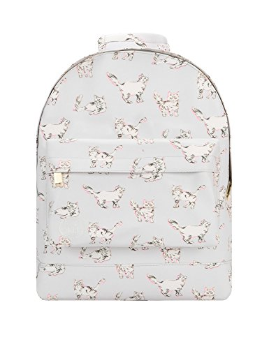 Mi-Pac Women's Mini Cats Backpack In Grey Grey by Mi-Pac
