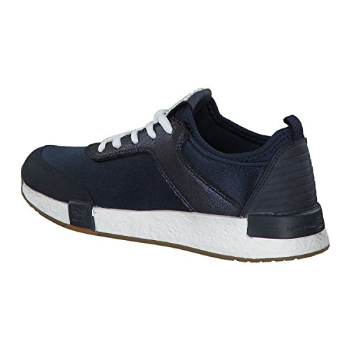 TOM TAILOR Damen 4899101 Sneaker Blau (Navy)