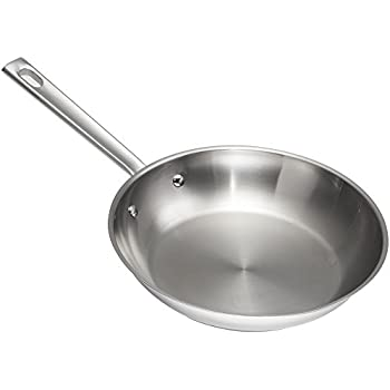"Emeril Lagasse 62951 Stainless Steel Fry Pan, 8"", Silver"