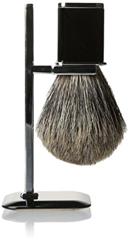 Harry D Koenig & Co Badger Shave Brush with Stand for Men, S