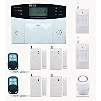AG-security™ GSM SMS Home Burglar Security Wireless Gsm Alarm System Detector Sensor Kit Remote Control