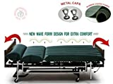 Mcp Water Bed For Prevention Against Bed Sores - Waterbed01 (Dark Green)