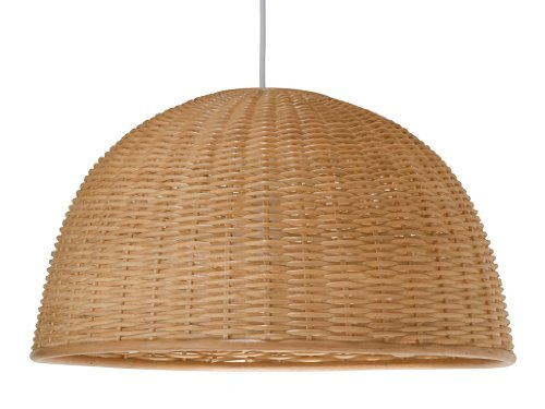 Natural Woven Pendant Light - 2