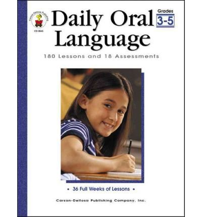 [(Daily Oral Language, Grades 3 - 5: 180 Lessons and 18 Assessments)] [Author: Gregg O Byers] published on (July, 2001) ebook