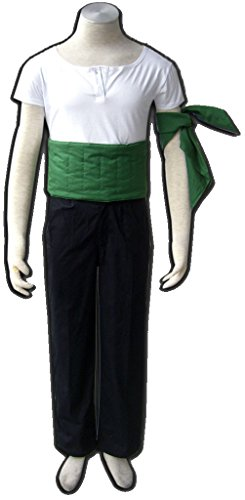 Dazcos One Piece Roronoa Zoro Cosplay Costume-Large (Zoro Fancy Dress)