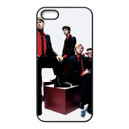 Franz Ferdinand 003 coque iPhone 4 4S cellulaire cas coque de téléphone cas téléphone cellulaire noir couvercle EEEXLKNBC25123