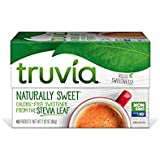 Truvia Natural Stevia Sweetener Packets, (Net Wt. 5.64 oz) (Pack of 12), 80 Count (Pack of 12)