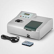 VEVOR Visible Spectrophotometer 721, Wavelength Range 350-1020nm,Spectral Bandwidth 6nm,Spectrophotometer Portable Lab Equipment (Type 721)