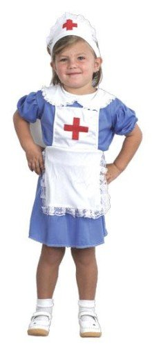 6e650a1577623 Childrens Toddler Girls Nurse Costume for Hospital Carry On Fancy ...