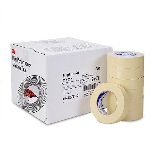 - 24 rolls 3M Highland 2727 automotive refinish masking tape 1.5