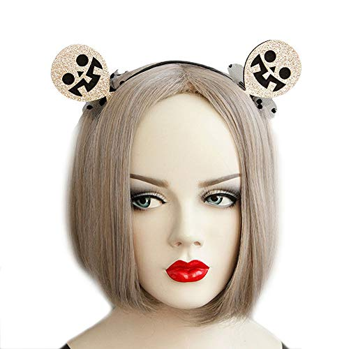 Halloween Headband Funny Devil Elf Witch Ghost Hairband Costume Accessory -