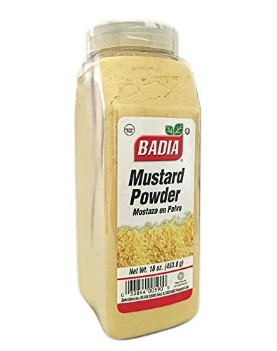16 oz Mustard Powder Dry/Mostaza en Polvo Gluten Free Kosher