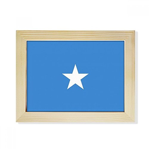 DIYthinker Somali National Flag Africa Country Desktop Wooden Photo Frame Picture Art Painting 6x8 inch by DIYthinker