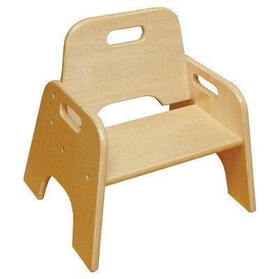 Wooden Kids Novelty Chair [Set Of 2] Size: 17.5u0026quot; ...