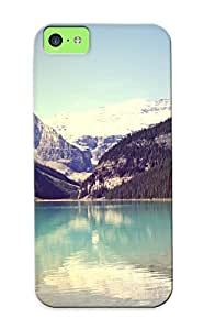 2a5fa191604 Mountains Landscapes Nature Lakes Protective Case Cover Skin/iphone 5c Case Cover Appearance