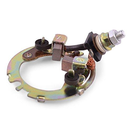 Starter Brush Plate Repair Kit (2) Mitsuba For Suzuki LTA 400 Eiger 2002 2003 2004 2005 2006 2007 / LTZ 400 QuadSport Z400 2003 2004 2005 2006 2007 2008 2009