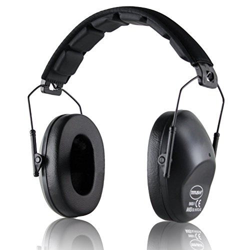 TITUS Low-Profile 34 Decibel NRR Safety Earmuffs (No Pouch, Black) by Titus (Image #2)