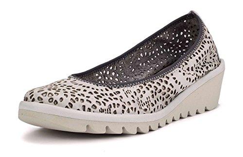Mel Escotado The Zapato Blanco Plataforma Mujer A De Flexx Drama 5TAwqxaT