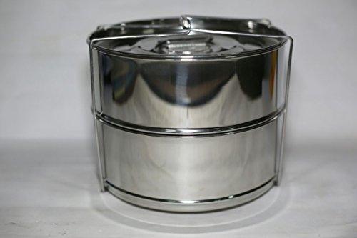 stainless steel 2 tier steamer - 7