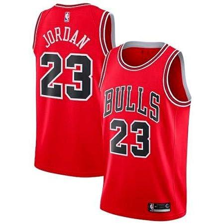 b90194c8d6183 Zhao Xuan Trade Taureaux Jersey Champion NBA Vintage Jersey Michael Jordan  Maillot Swingman Basketball Mesh # 23 de Chicago: Amazon.fr: Sports et  Loisirs