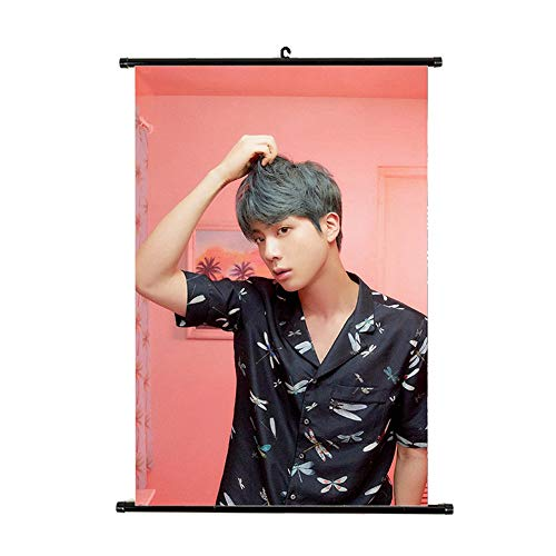 Nuofeng - Kpop BTS New Ablum 'MAP of The Soul : Persona' Concept Poster Wall Hanging Scroll Paintings for A.R.M.Y(B-H06)