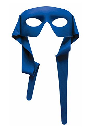 Blue Mask Costume (Mysterious Blue Eye Men Mask with Tie)