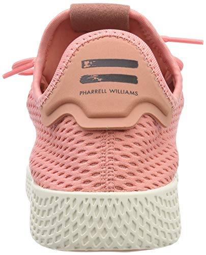 adidas Originals PW Tennis HU Mens Trainers Sneakers (UK 3.5 US 4 EU 36, Pink White BY8715) by adidas (Image #2)