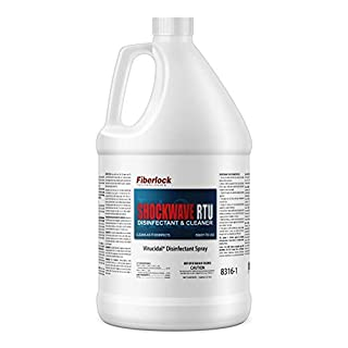 Fiberlock Shockwave RTU Disinfectant Cleaner, Sanitizer, and Virucide (1 Gallon & 5 Gallon size Available)