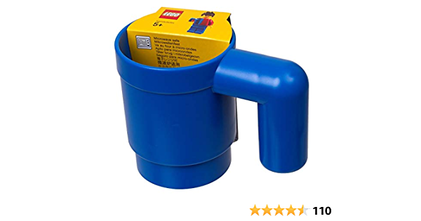 Lego 853465 Originally Lego Drinking Mug Human Size Blue Ultra Rare Brand New