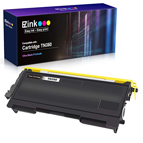 E-Z Ink (TM) Compatible Toner Cartridge Replacement for Brother TN350 TN-350 TN 350 to Use with Intellifax 2820 Intellifax 2920 HL-2070N HL-2040 DCP-7020 MFC-7820n (Black, 1Pack) (2820 Brother Toner)