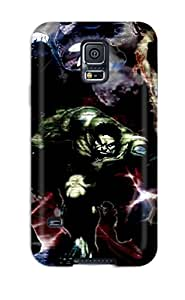 New Fashionable JonathanLFarr DMPIDLL768LWBgN Cover Case Specially Made For Galaxy S5(exclusive Grafiti Style Marvel )