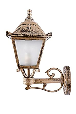 Buy fos lighting vintage antique golden outdoor wall light online at fos lighting vintage antique golden outdoor wall light aloadofball Choice Image