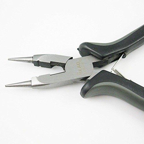 Generic YanHong-US3-150914-21 8yh1324yh & Close Rings Jewelry Pliers- Loop, Loop, Cut, Beadsmith Ergonomic Beadsmith Cut, Flatten & n-One Jew Four-In-One gonomic F Close Rings
