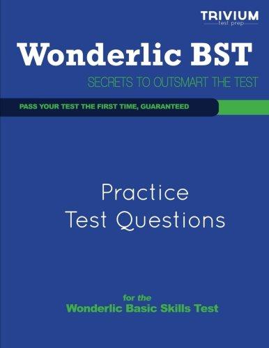 Wonderlic Practice Test Questions