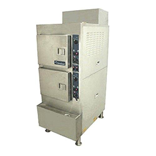 Cleveland 24CGA6.2S Gas Pressureless Convection Steamer ()