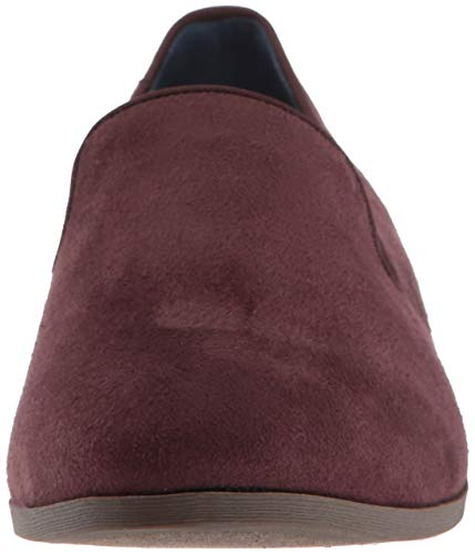 Dr Women's Scholl's Style Loafer Microfiber Merlot Driving Emperor qf1q8