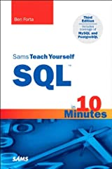Sams Teach Yourself SQL in 10 Minutes Kindle Edition